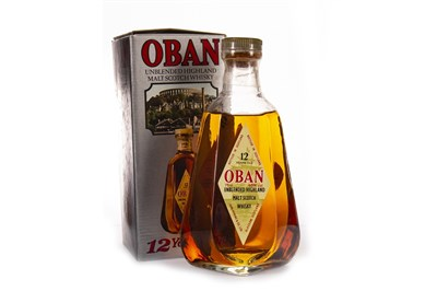 Lot 52-OBAN 12 YEARS OLD