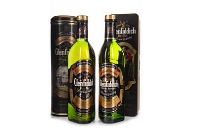 Lot 319-TWO BOTTLES OF GLENFIDDICH SPECIAL OLD RESERVE
