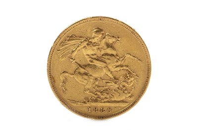 Lot 522-A GOLD SOVEREIGN, 1880