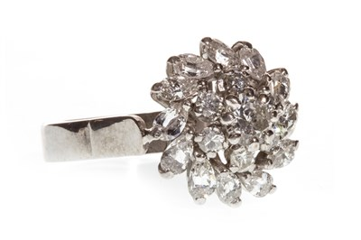 Lot 45-A DIAMOND CLUSTER RING