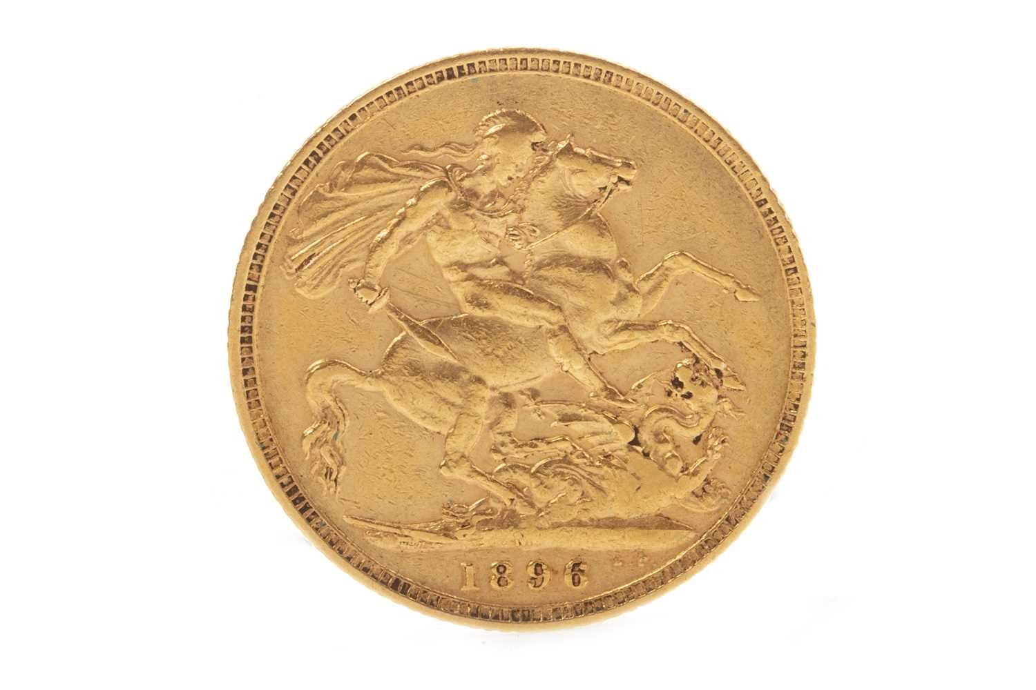 Lot 513-A GOLD SOVEREIGN, 1896
