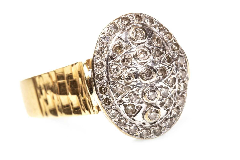 Lot 56-A DIAMOND DRESS RING