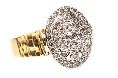 Lot 56-A DIAMOND DRESS RING