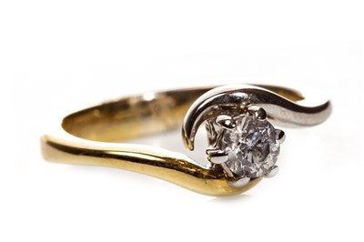 Lot 78-A DIAMOND SOLITAIRE RING
