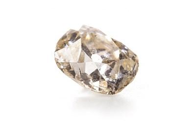 Lot 94 - AN UNMOUNTED DIAMOND