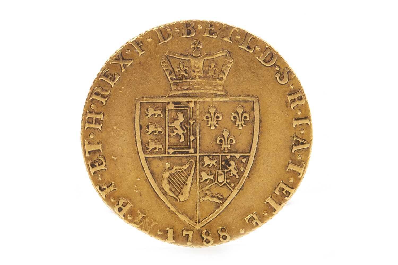 Lot 519 - A GOLD SPADE GUINEA, 1788