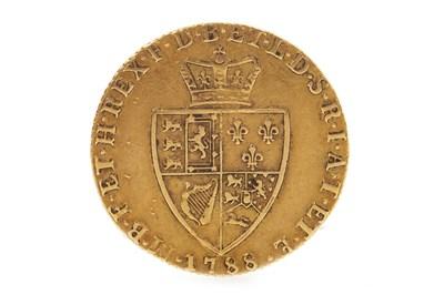 Lot 519-A GOLD SPADE GUINEA, 1788