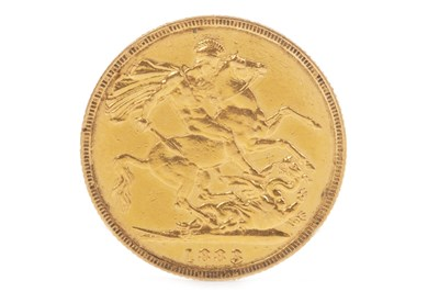 Lot 534-A GOLD SOVEREIGN, 1883