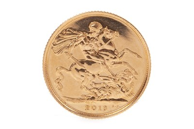 Lot 535-A GOLD SOVEREIGN, 2013