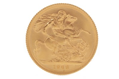 Lot 536-A GOLD SOVEREIGN,  1968