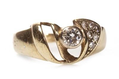 Lot 124-A DIAMOND DRESS RING
