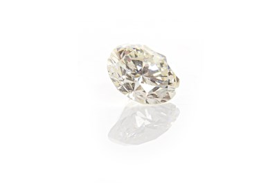 Lot 134 - AN UNMOUNTED DIAMOND