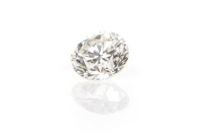Lot 146 - AN UNMOUNTED DIAMOND