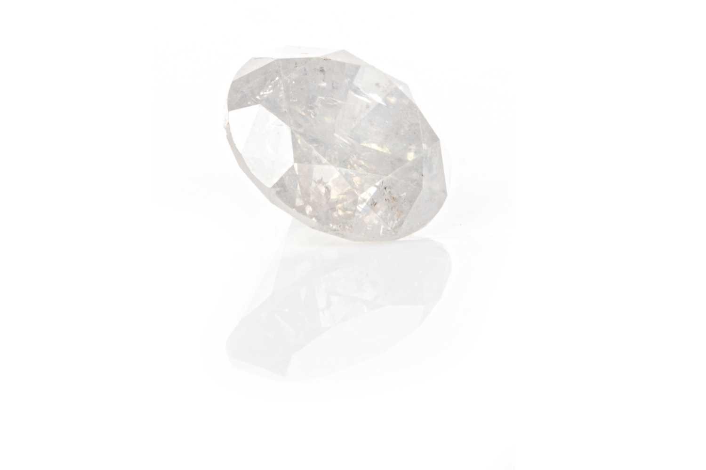 Lot 152 - AN UNMOUNTED DIAMOND