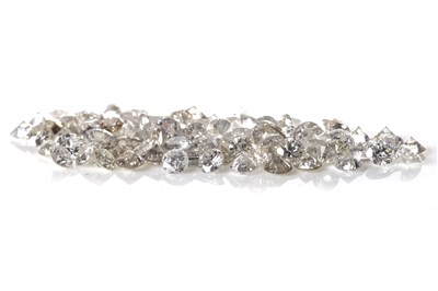 Lot 154 - A COLLECTION OF UNMOUNTED DIAMONDS