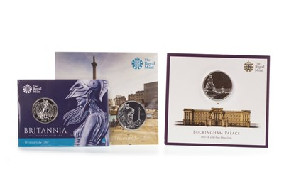 Lot 541-FOUR THE ROYAL MINT SILVER PROOF COINS