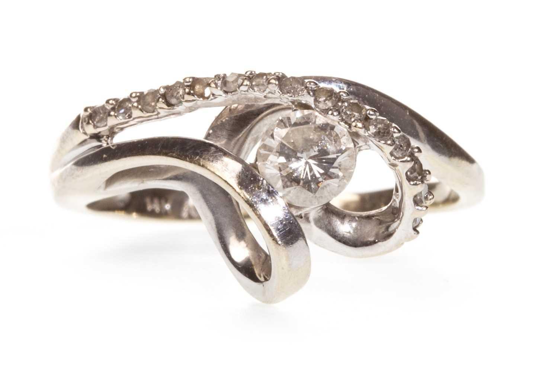 Lot 130-A DIAMOND DRESS RING