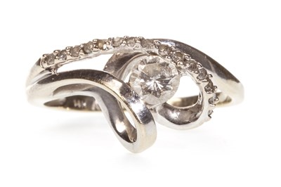 Lot 130-A DIAMOND DRESS RING
