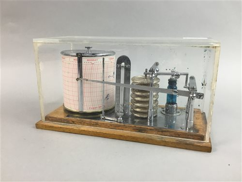 Lot 24-AN EARLY 20TH CENTURY BAROGRAPH