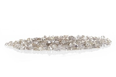 Lot 158-A COLLECTION OF UNMOUNTED DIAMONDS