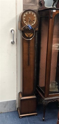 Lot 27-A 1930s GRANDMOTHER CLOCK
