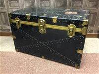 Lot 29-A CABIN TRUNK WITH CUNARD LABEL