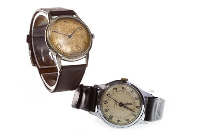 Lot 862 - A GENTLEMAN'S INGERSOLL WRIST WATCH AND ANOTHER