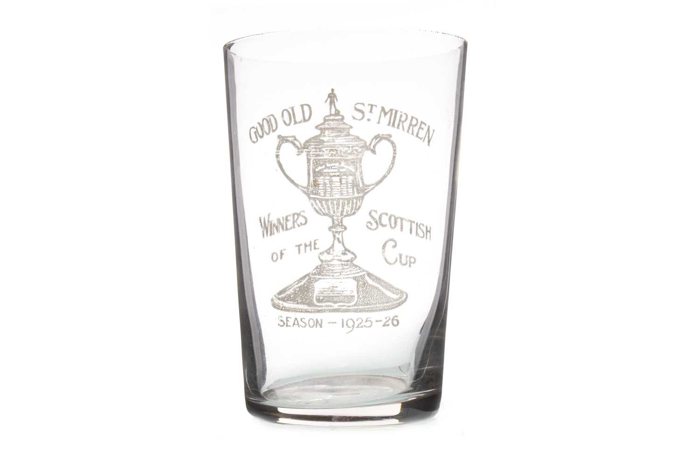 Lot 1901-ST MIRREN CRAVAT AND A GOOD OLD ST MIRREN GLASS