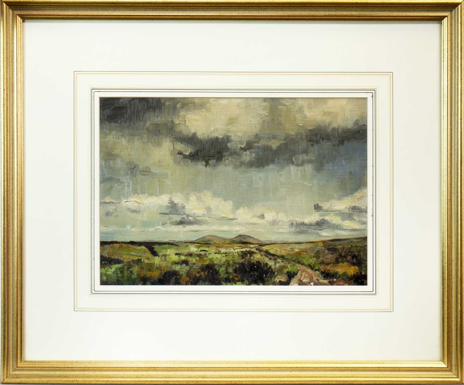 Lot 624-LANDSCAPE WITH MOUNTAINS IN THE DISTANCE
