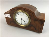 Lot 40-AN EARLY 20TH CENTURY FRENCH MANTEL CLOCK