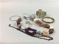 Lot 44-A LOT OF COSTUME JEWELLERY