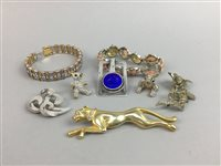 Lot 49-A LOT OF COSTUME JEWELLERY