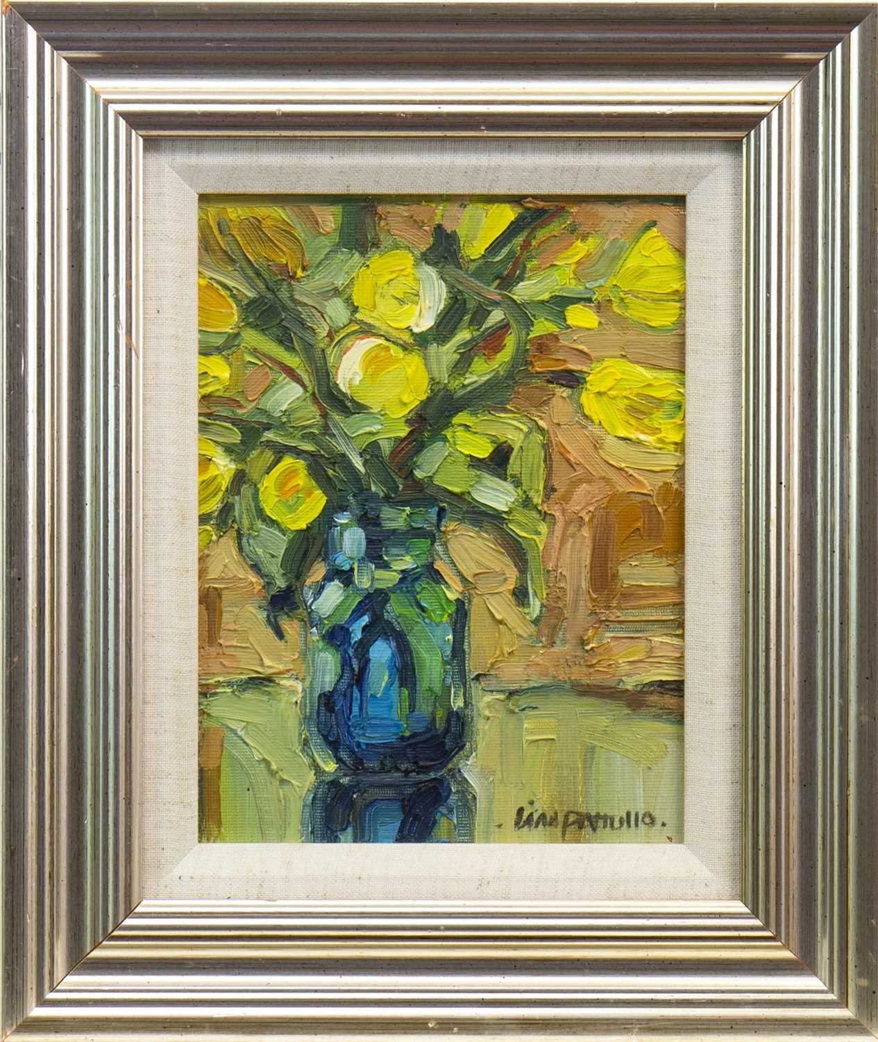 Lot 535-STILL LIFE, AN OIL BY LIN PATTULLO