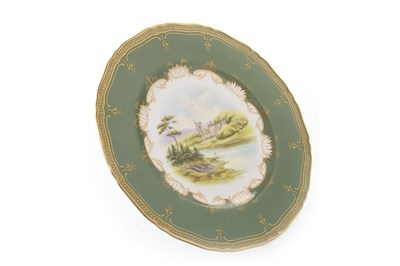 Lot 1287-A ROYAL WORCESTER PLATE BY MILWYN HOLLOWAY
