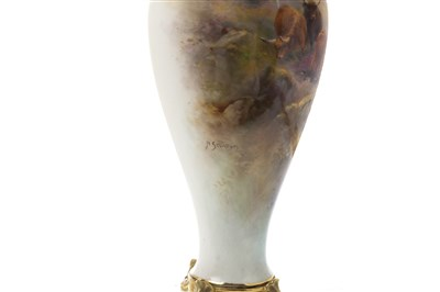 Lot 1284-A ROYAL WORCESTER VASE BY HARRY STINTON
