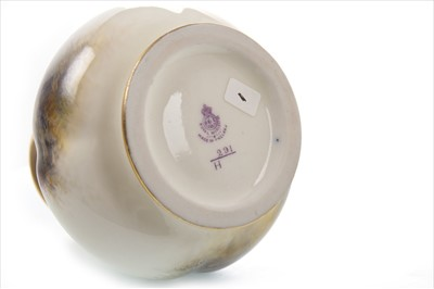 Lot 1071-A ROYAL WORCESTER VASE BY HARRY STINTON