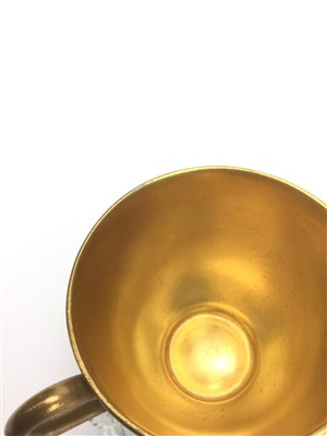 Lot 1072-A ROYAL WORCESTER COFFEE CUP AND SAUCER BY HARRY STINTON
