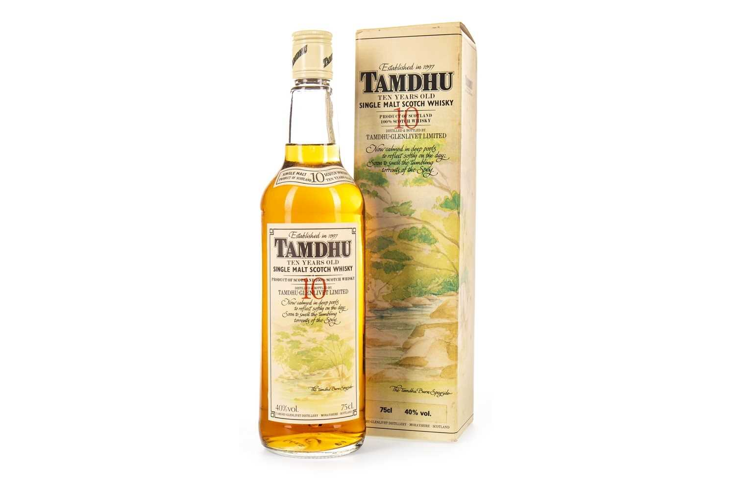Lot 323-TAMDHU 10 YEARS OLD