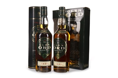 Lot 327-TWO BOTTLES OF GLEN ORD 12 YEARS OLD