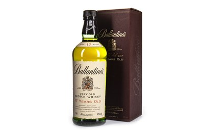 Lot 427-BALLANTINE'S 17 YEARS OLD