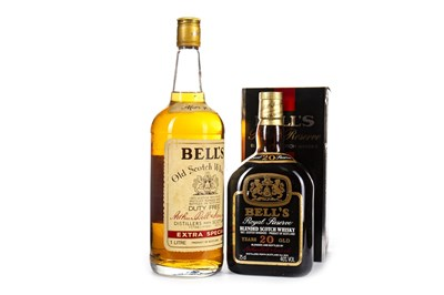 Lot 429-BELL'S ROYAL RESERVE 20 YEARS OLD & BELL'S EXTRA SPECIAL