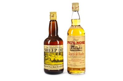 Lot 439-SHEEP DIP & PIG'S NOSE AGED 5 YEARS