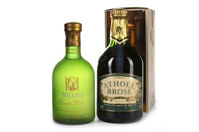 Lot 447-ATHOL BROSE AND WALLACE SINGLE MALT LIQUEUR