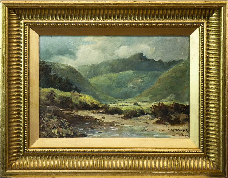 Lot 442-GLEN ROSA, AN OIL BY JOHN MCNICOL