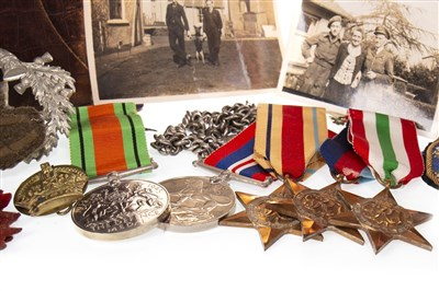 Lot 881 - A MILITARY ARCHIVE RELATING TO H. A. JOWERS