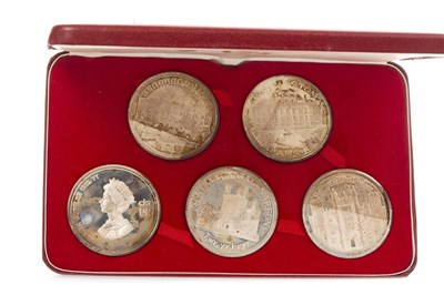 Lot 610-A TOWER MINT PROOF STERLING SILVER JUBILEE MEDALLION SET