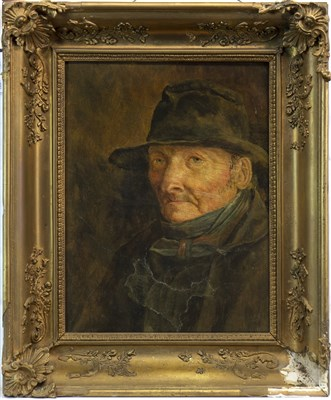 Lot 459-PORTRAIT OF A MAN, AN OIL AFTER ERSKINE NICOL