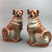 Lot 11-A PAIR OF WALLY DUGS