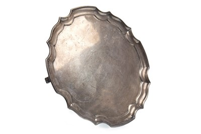 Lot 808-A GEORGE V SILVER SALVER