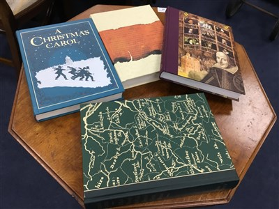 Lot 16-A COLLECTION OF FOLIO SOCIETY AND OTHER HARDBACK BOOKS